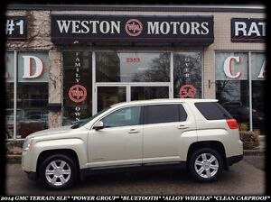 2014 GMC Terrain SLE*POWER GROUP*BLUETOOTH*ALLOY WHEELS*