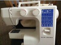 New world sewing machine. White New world sewing