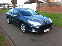 Peugeot 407 2.0 HDi Sport 4dr TRADE SALE,SAT NAV,PARKING AID