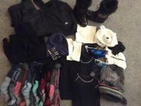 Ladies ski bundle fit size 14-16, Only used once for a ski trip