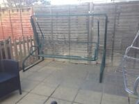 Very Strong & Sturdy 3 Seater Garden Swing, £30