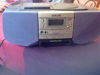 Sony CFD-S37L CD Radio Cassette-Corder