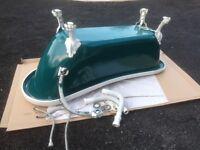 Beautiful Acrylic Roll Top Slipper Bath