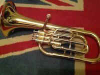 Elkhart Brass instrument, horn