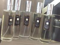 Jo Malone Fragrance Room Spray Samples - 5 x 5ml in Reusable Plastic Spray Atomisers