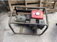 Pramac Generatior. Honda 5.5hp GX160. 110/240