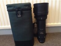 Sigma lens Canon Fit