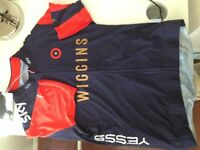 Rapha 'Wiggins' Cycling Jersey Size L, New unused.