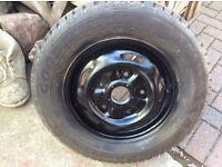 Ford transit wheel plus tyre