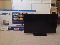 32inch Samsung smart TV (Full HD, 1080p) with original box