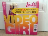 Barbie doll video camera brand new in unopened box