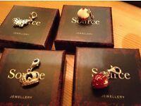 Silver charm bracelet stunning