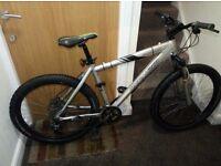 Specialized hardrock bike with 26 wheel size with hydraulic break (fluid)