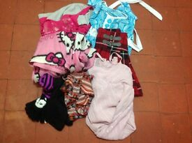 Bundle of girl's clothes age 9-10