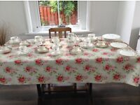 Vintage tea sets for hire mix n match; approx 33 place settings