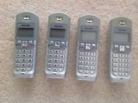 Philips telephone answerphone 4 set
