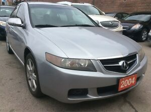 2004 Acura TSX $GREAT DEAL$ Leather Sunroof Alloys Loaded!