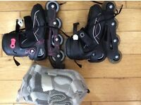 Roller skates with protections £15