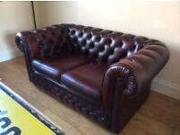 Chesterfield suites wanted! Sofas armchairs footstools etc.