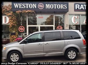 2013 Dodge Grand Caravan *CARGO *FULLY LOADED *BT *CARGO NET *A