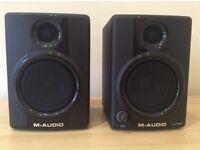 MAudio AV30 monitors for sale £45 or part of recording bundle £200