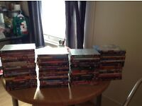 66 DvDs all working and like new.sold all at once, 4 bundles, sold all together.
