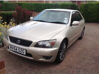 Lexus IS 200 SE auto 2004. 2 owners from new.