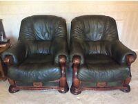 Two Single Seater Sofa