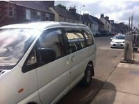 Mitsubishi 4x4, 7 seater car/van with MOT £1100