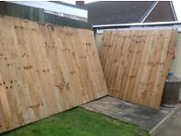 Fencing Featheredge panels