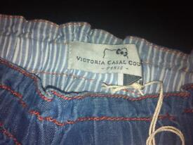 Hello Kitty By Victoria Couture children's age 2 puffed denim skirt RRP £125