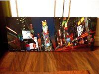 NEW Print/Photo on Canvas - City - Modern - (98cm x 40cm)
