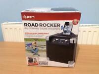 ION Audio Road Rocker Portable Bluetooth Speaker Device Dock