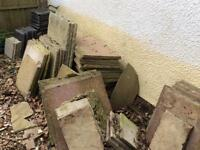 Assorted Paving Slabs - FREE
