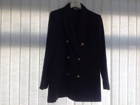 Dorothy Perkins Navy jacket with brass buttons