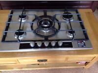 Gas hob, Aeg 5 burner, immaculate, never used