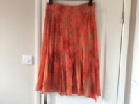 Per Una Skirt, Burnt Orange