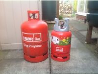 Two calor gas cylinders