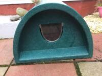 Cat outdoor Kennel house and shelter
