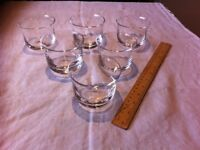 Dartington Crystal Whisky tumblers