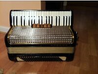 Hohner Mussette III, 120 bass accordion, £400 ono