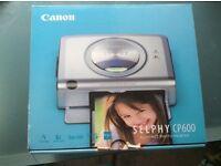 Canon Selphy CP600 compact photo printer