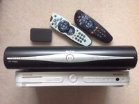 Used Sky+ box and Sky Digi box with Controls and Sky MINI wireless WiFi connector