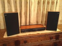 Bang and Olufsen, Beomaster 1100 type no.2609 with two Beovox S30 speakers.