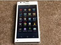 Sony Xperia SP mobile phone unlocked open to all networks