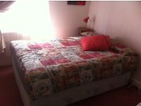 double bed with matress for sale