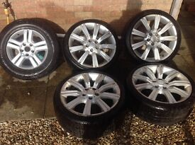"20"" alloy wheels for VW t5"