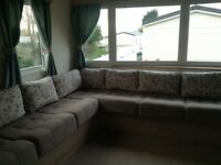 Seton sands haven park 2&3 bed deluxe caravans Dog friendly