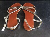 Ladies Next Leather sandles