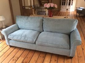 Laura Ashley Abingdon Grande Sofa - As New Condition